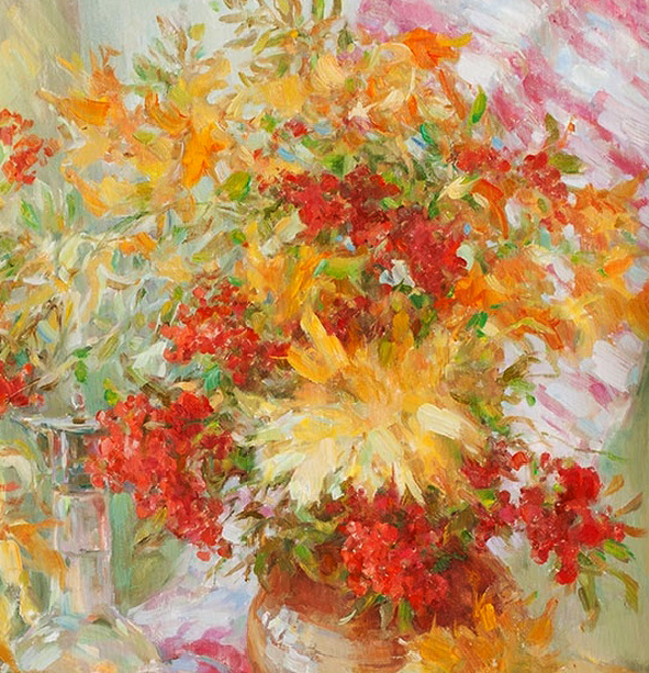 光色十足,印象风的静物花卉与人物,美得让人流连忘返!插图3