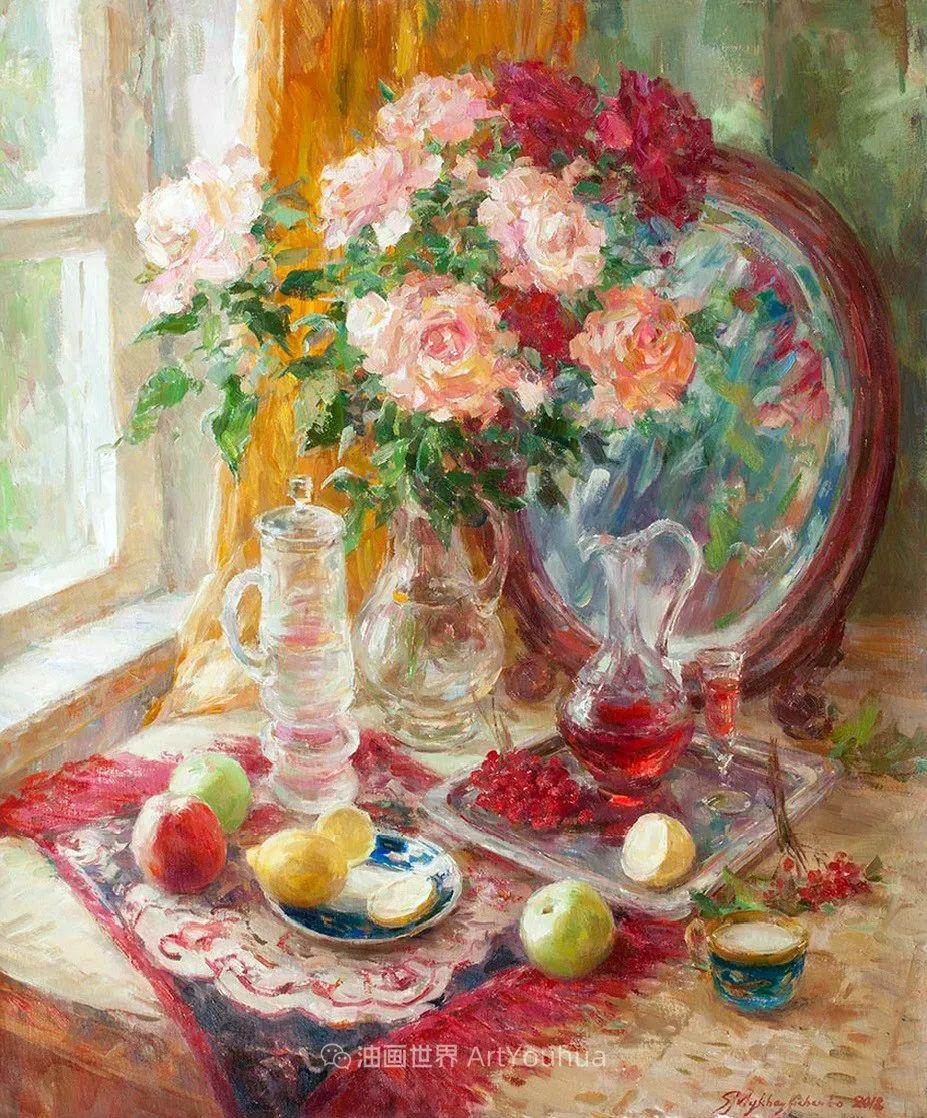 光色十足,印象风的静物花卉与人物,美得让人流连忘返!插图11