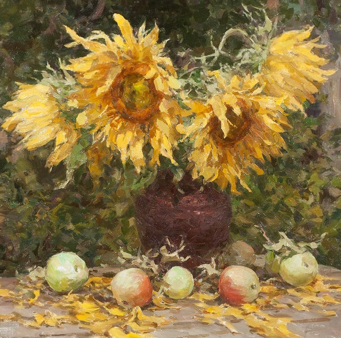 光色十足,印象风的静物花卉与人物,美得让人流连忘返!插图25