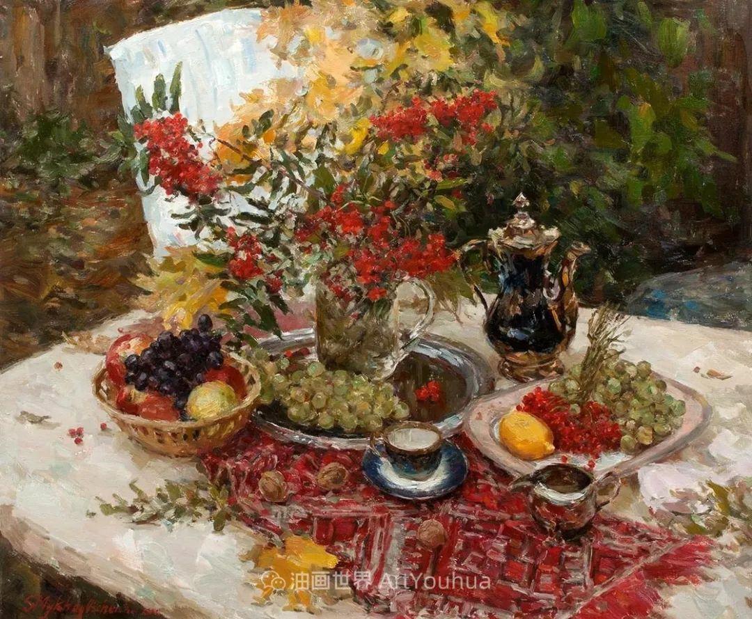 光色十足,印象风的静物花卉与人物,美得让人流连忘返!插图39