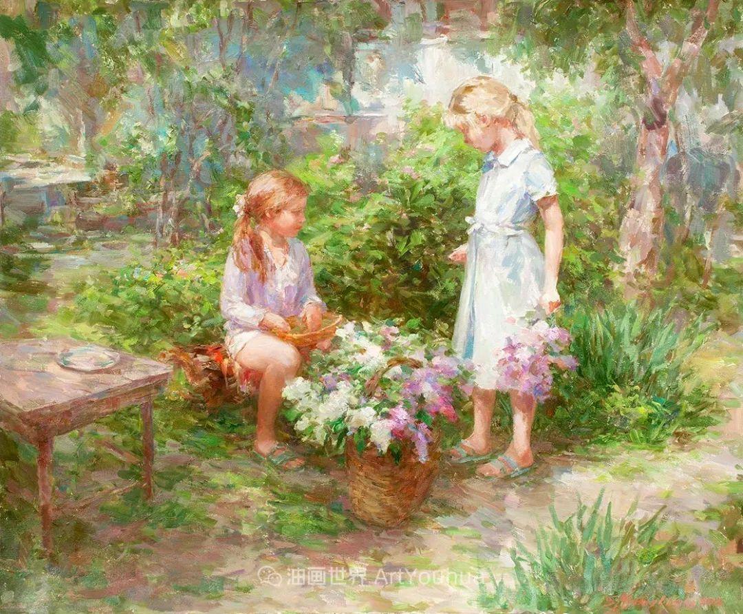 光色十足,印象风的静物花卉与人物,美得让人流连忘返!插图43
