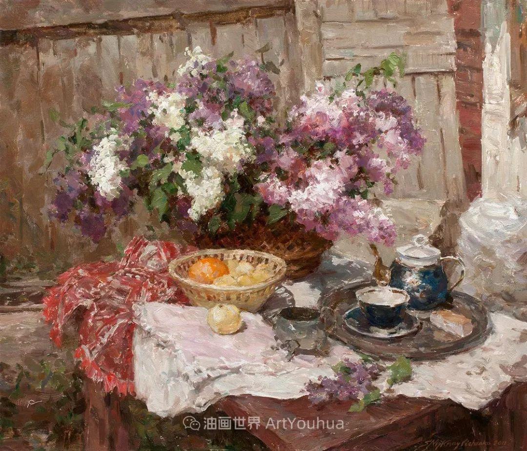 光色十足,印象风的静物花卉与人物,美得让人流连忘返!插图65