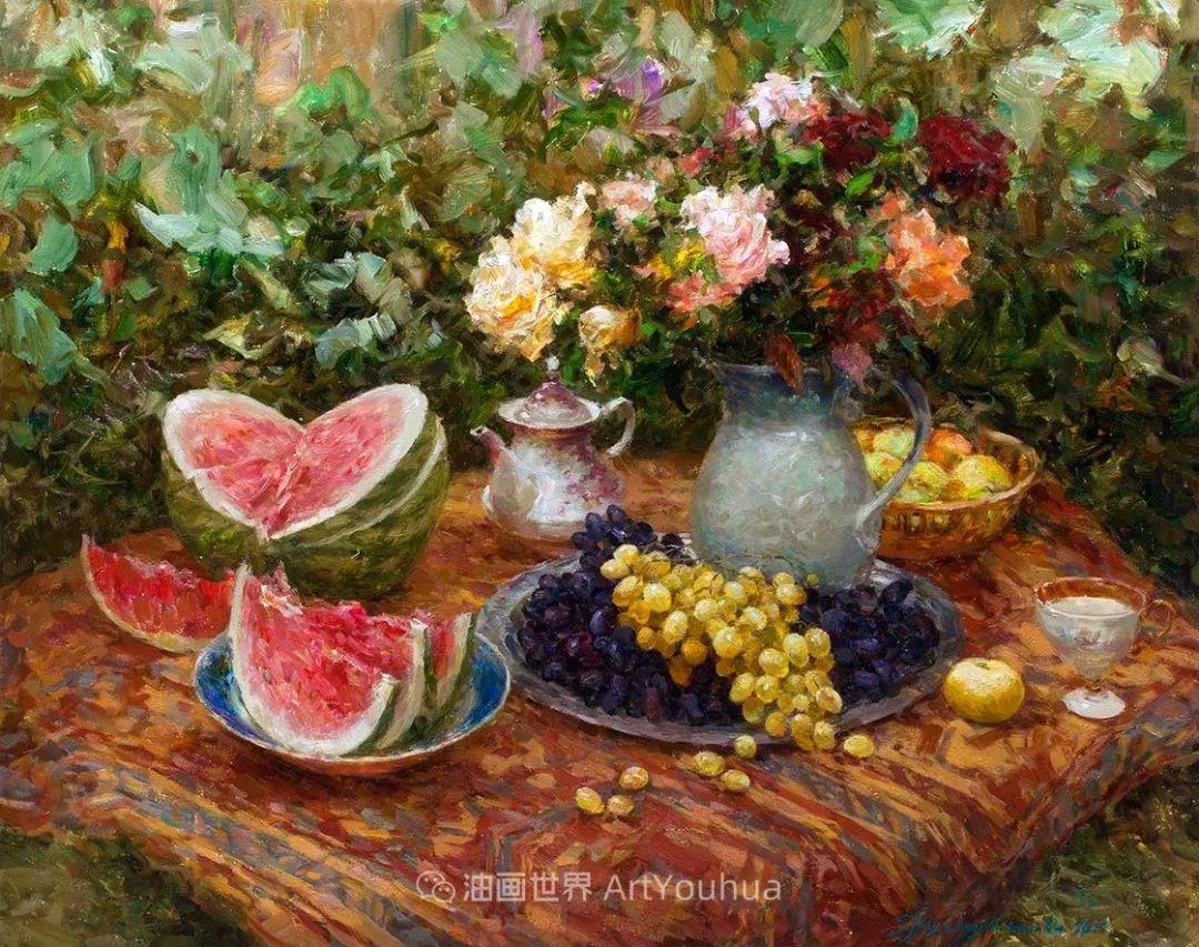 光色十足,印象风的静物花卉与人物,美得让人流连忘返!插图69