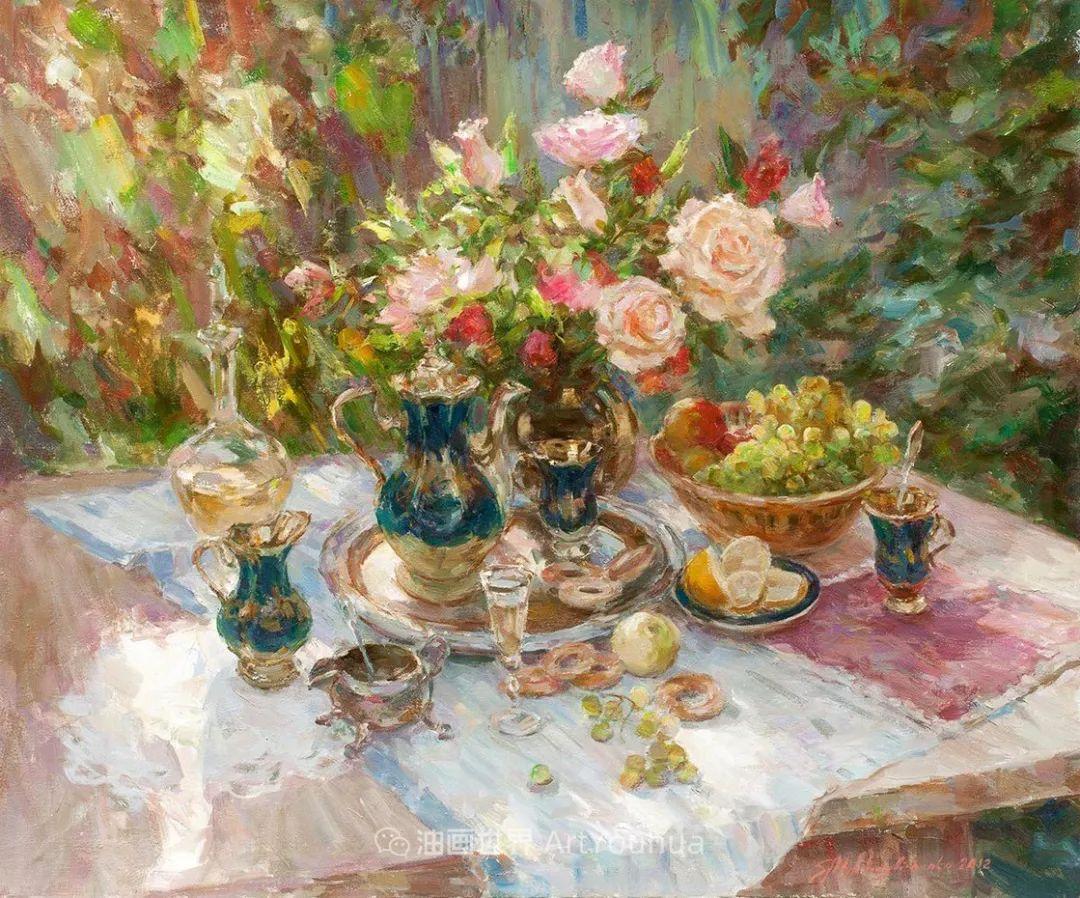 光色十足,印象风的静物花卉与人物,美得让人流连忘返!插图71