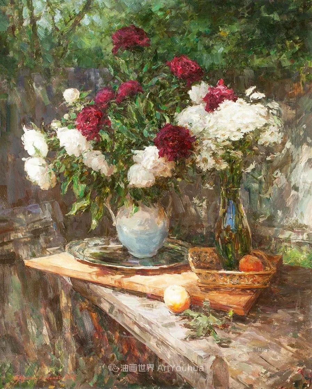 光色十足,印象风的静物花卉与人物,美得让人流连忘返!插图73