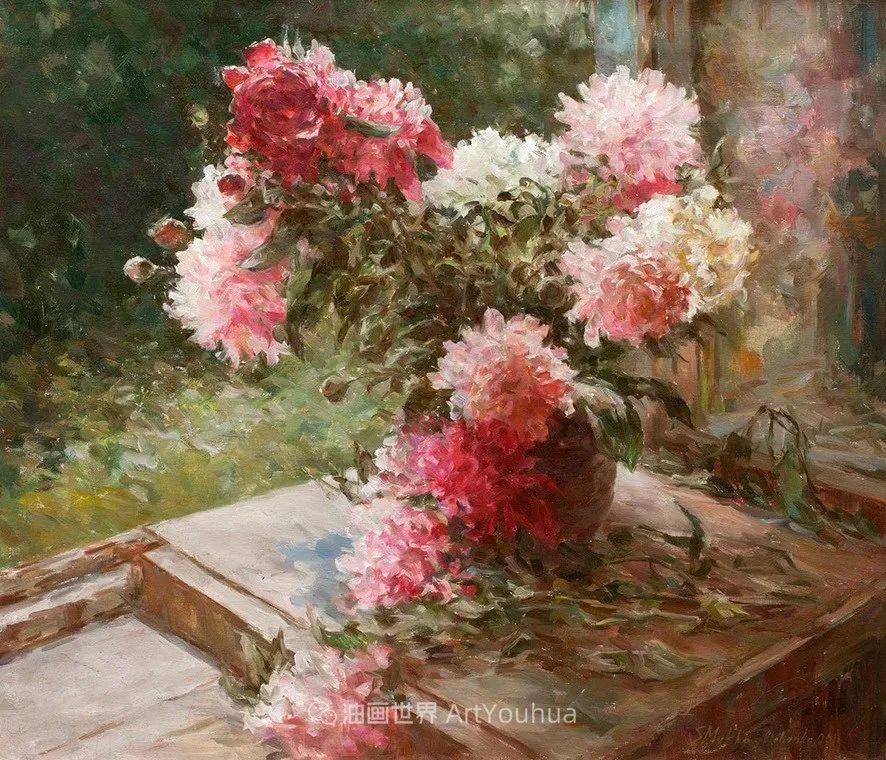 光色十足,印象风的静物花卉与人物,美得让人流连忘返!插图77