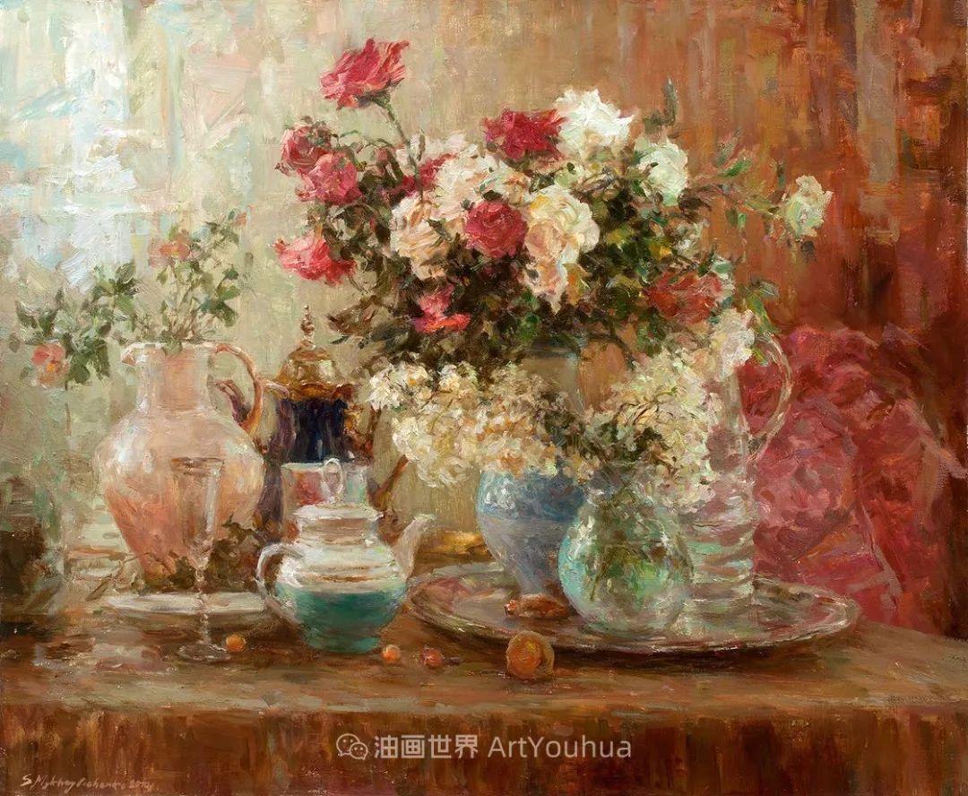光色十足,印象风的静物花卉与人物,美得让人流连忘返!插图87