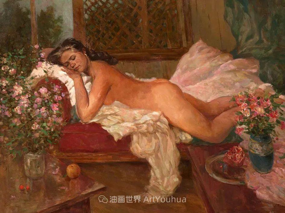 光色十足,印象风的静物花卉与人物,美得让人流连忘返!插图91
