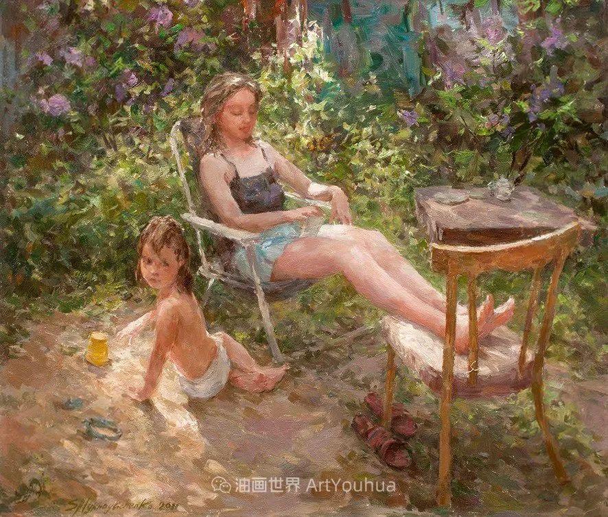 光色十足,印象风的静物花卉与人物,美得让人流连忘返!插图99