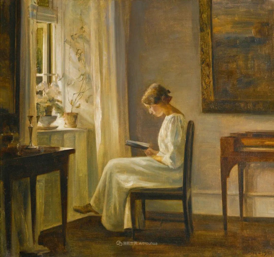 看书的女人最美丽,那一刻全世界都安静了!插图3