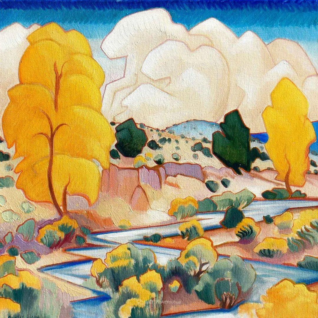 充满活力的构图,美国画家柯蒂斯·韦德插图7