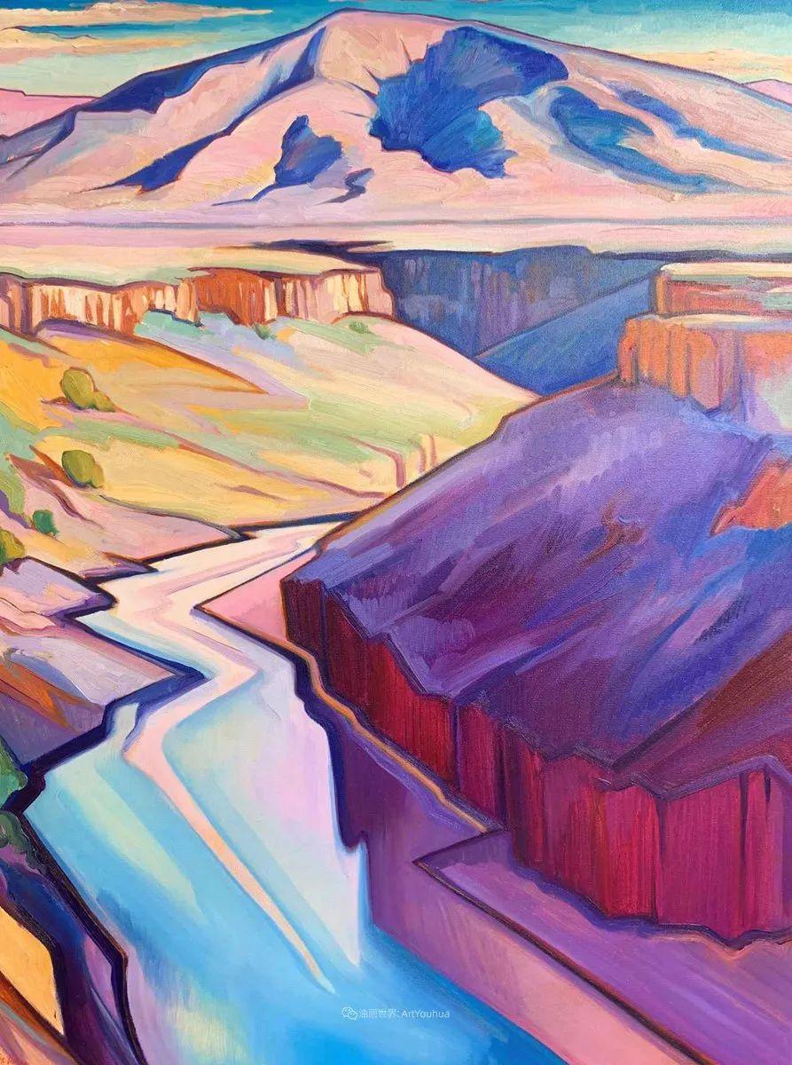 充满活力的构图,美国画家柯蒂斯·韦德插图9