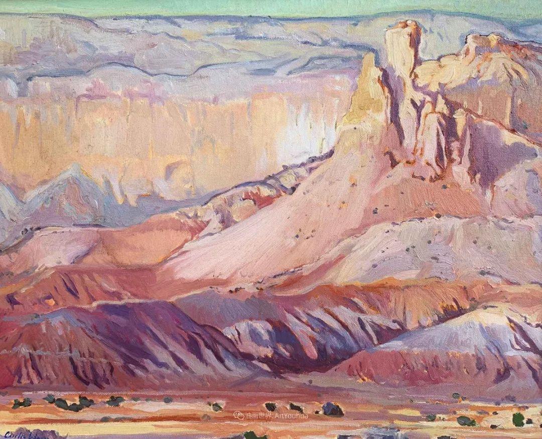 充满活力的构图,美国画家柯蒂斯·韦德插图17