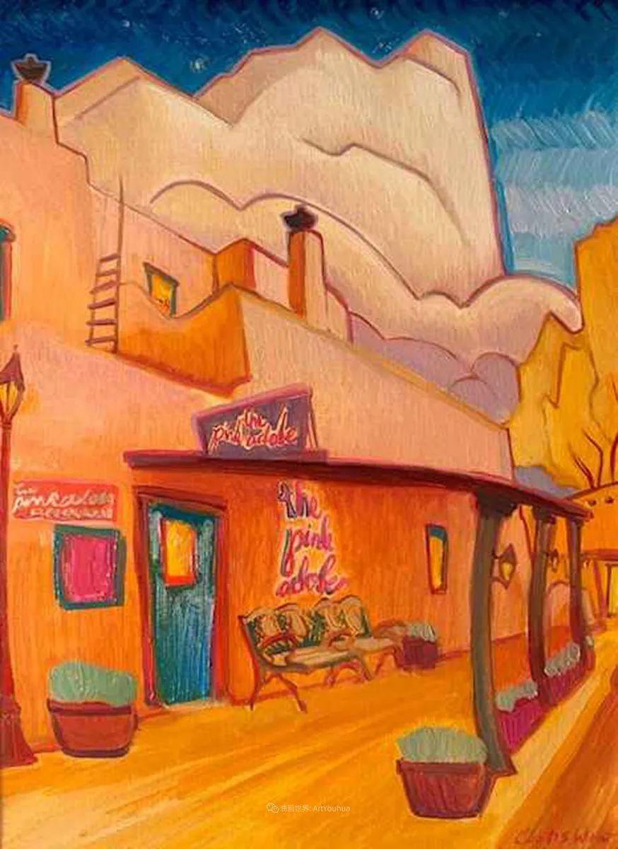 充满活力的构图,美国画家柯蒂斯·韦德插图25