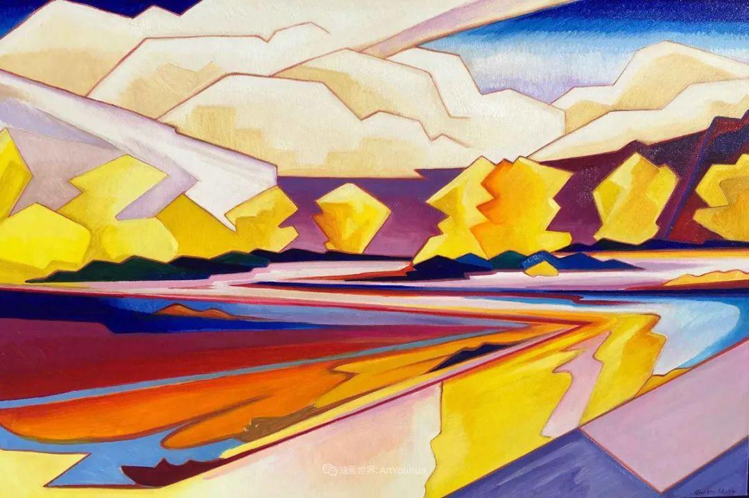 充满活力的构图,美国画家柯蒂斯·韦德插图29