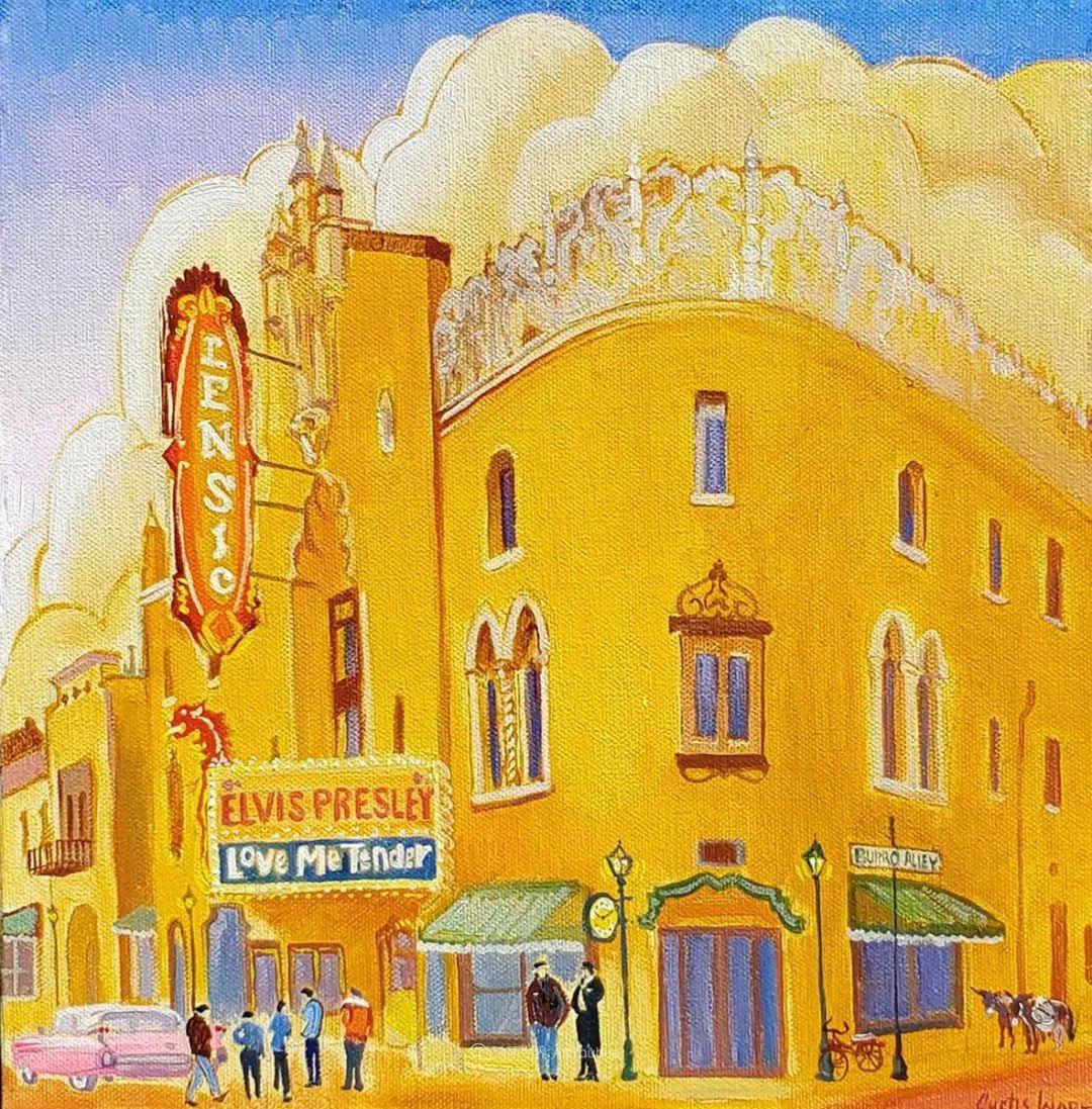 充满活力的构图,美国画家柯蒂斯·韦德插图33