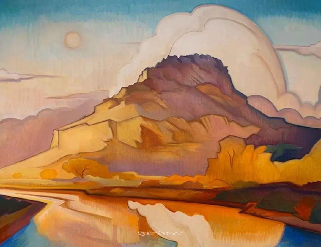 充满活力的构图,美国画家柯蒂斯·韦德插图41