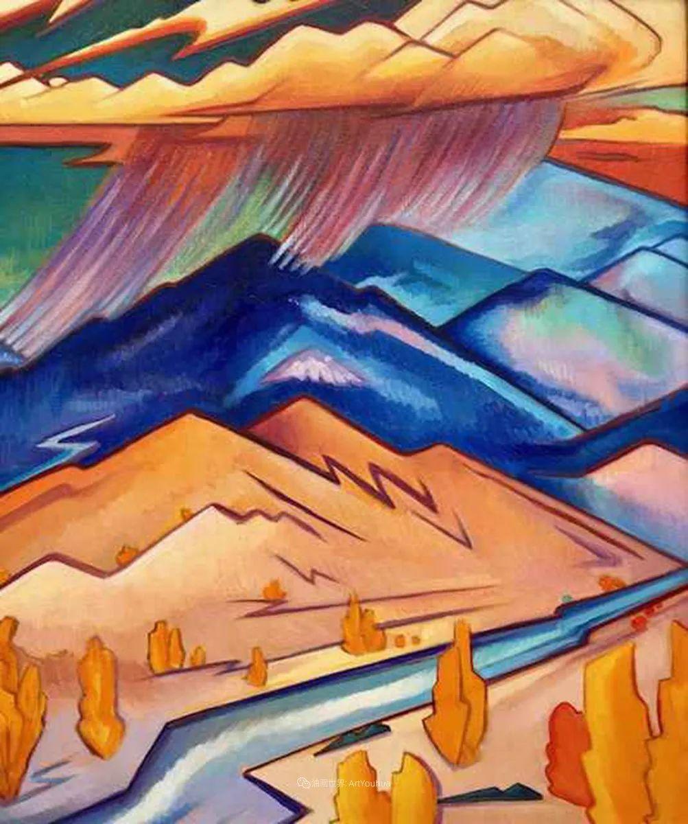 充满活力的构图,美国画家柯蒂斯·韦德插图51