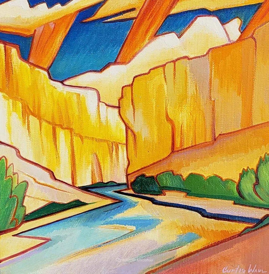 充满活力的构图,美国画家柯蒂斯·韦德插图61