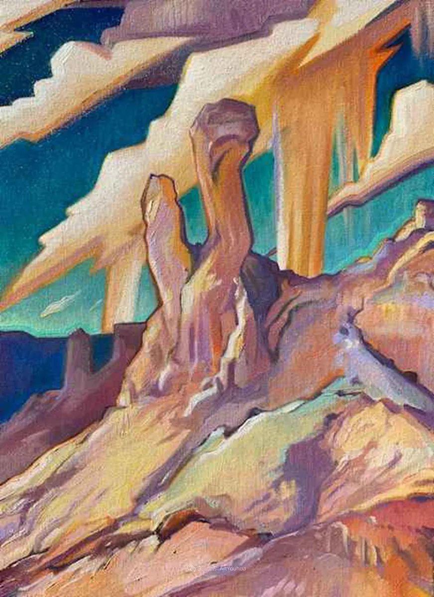 充满活力的构图,美国画家柯蒂斯·韦德插图67