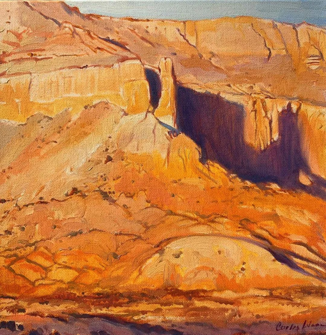 充满活力的构图,美国画家柯蒂斯·韦德插图69