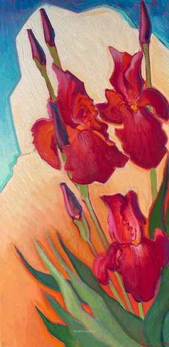 充满活力的构图,美国画家柯蒂斯·韦德插图75