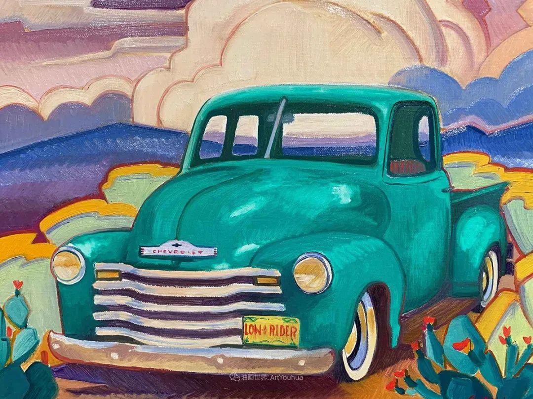 充满活力的构图,美国画家柯蒂斯·韦德插图81