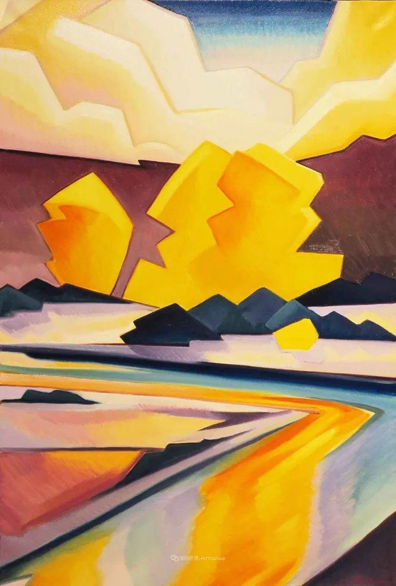 充满活力的构图,美国画家柯蒂斯·韦德插图83