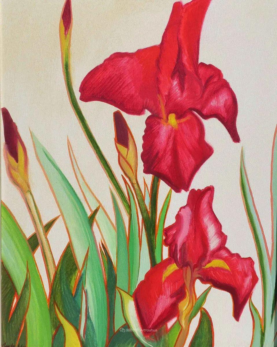 充满活力的构图,美国画家柯蒂斯·韦德插图85