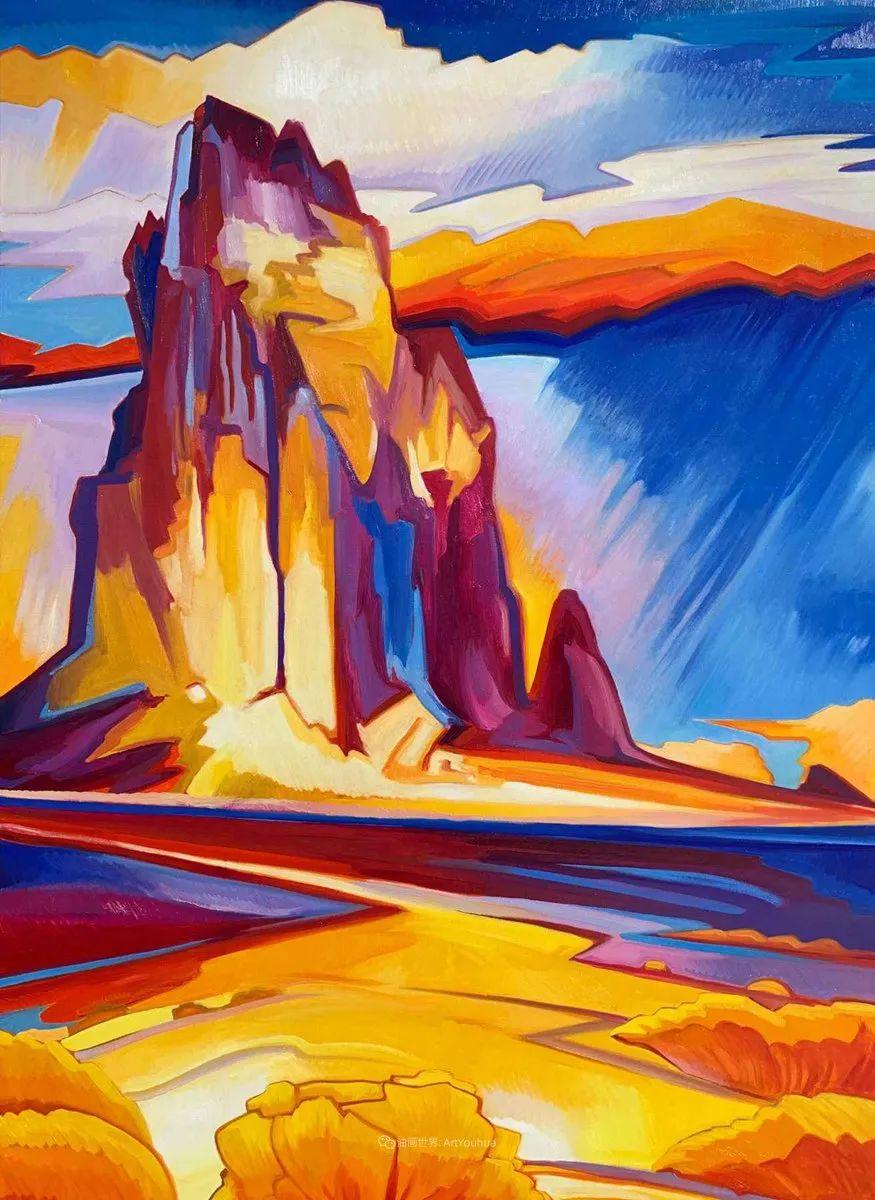 充满活力的构图,美国画家柯蒂斯·韦德插图89