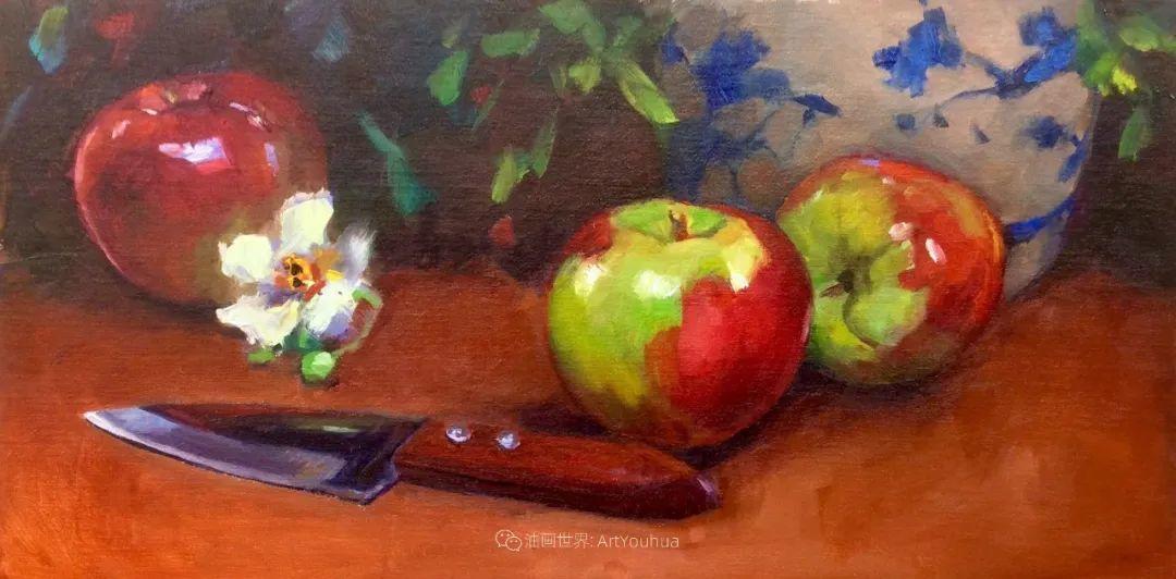 大笔触、充满活力色彩的花卉,美国女画家劳里·莱普科斯卡插图37
