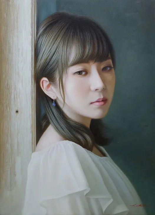日本画家佐藤功笔下的清纯美女,如照片般的质感!插图5