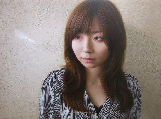 日本画家佐藤功笔下的清纯美女,如照片般的质感!插图45