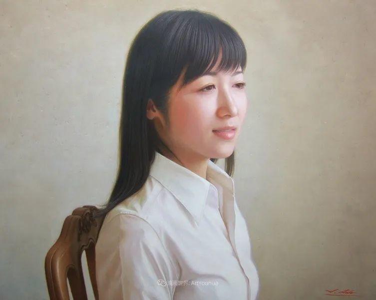 日本画家佐藤功笔下的清纯美女,如照片般的质感!插图57