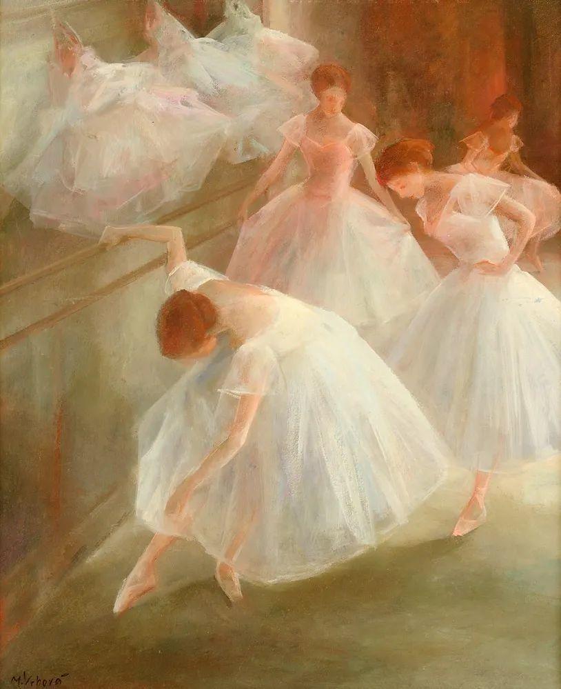 如梦如幻的芭蕾舞者,好唯美!插图1