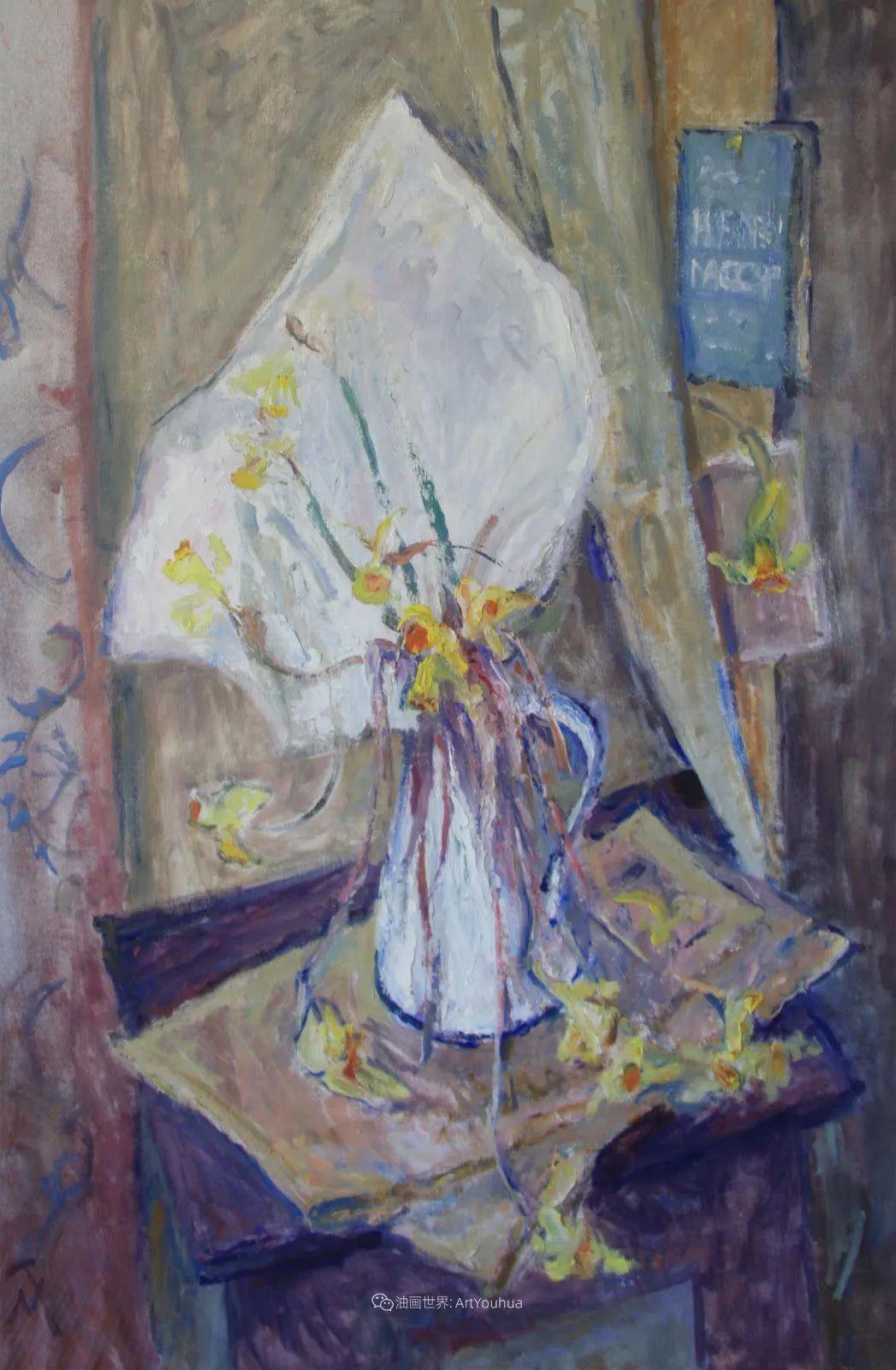 她活了100岁,笔下花卉静物,意想不到的美!插图33