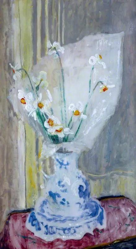 她活了100岁,笔下花卉静物,意想不到的美!插图35
