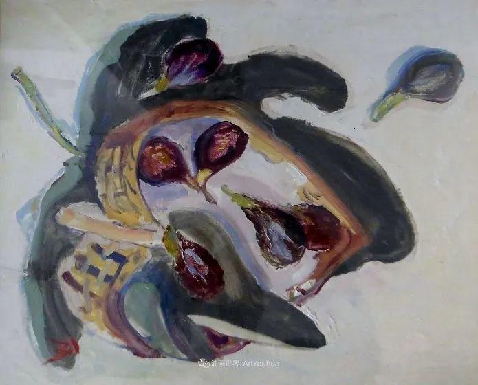 她活了100岁,笔下花卉静物,意想不到的美!插图51