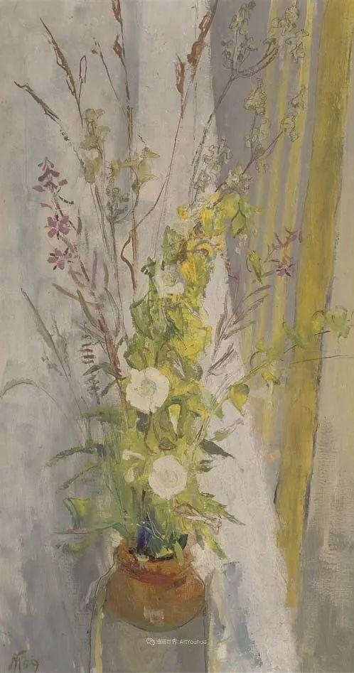 她活了100岁,笔下花卉静物,意想不到的美!插图75