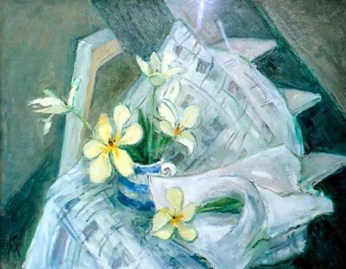 她活了100岁,笔下花卉静物,意想不到的美!插图79