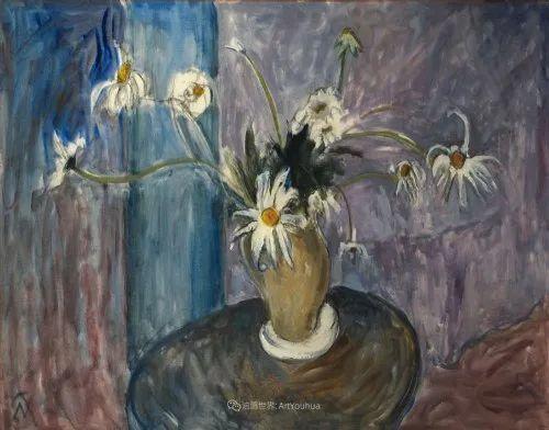 她活了100岁,笔下花卉静物,意想不到的美!插图81