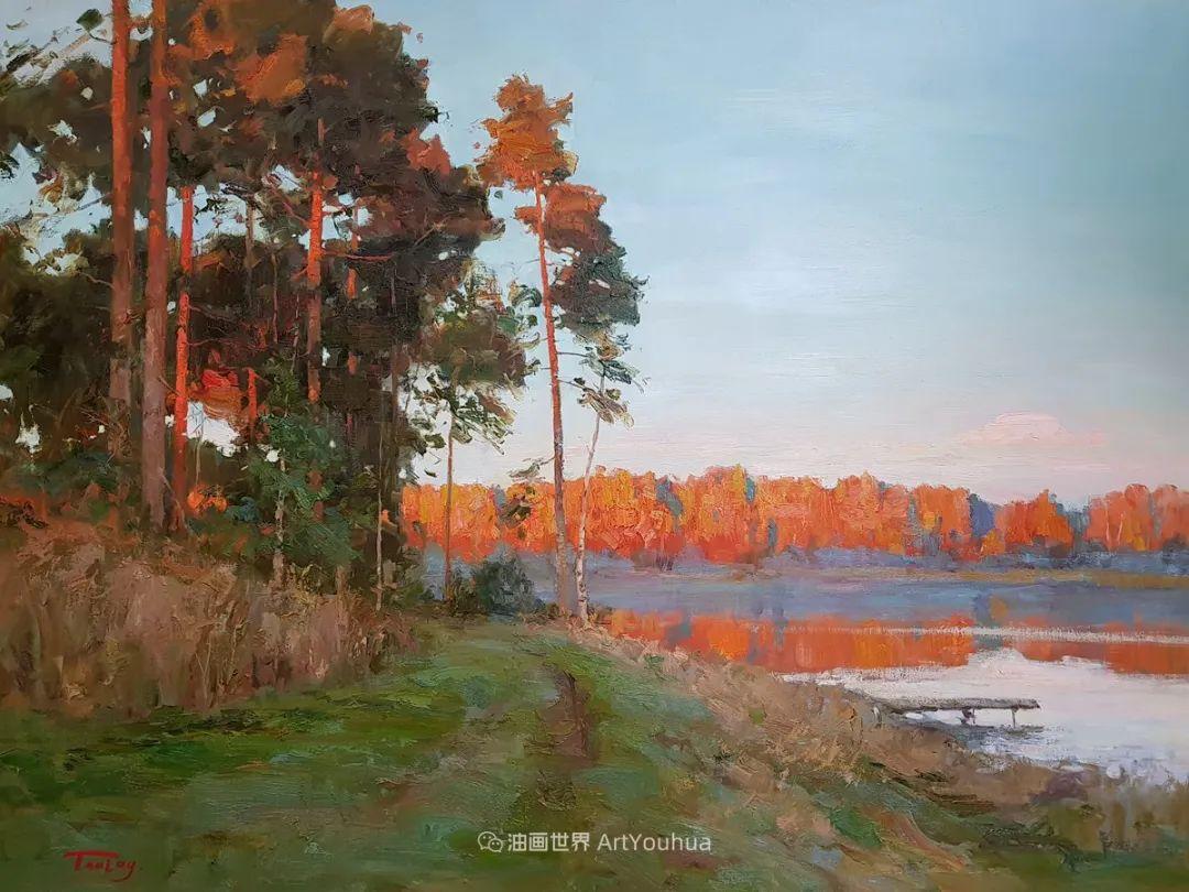 如此清新秀丽的油画风景,简简单单的美!插图39