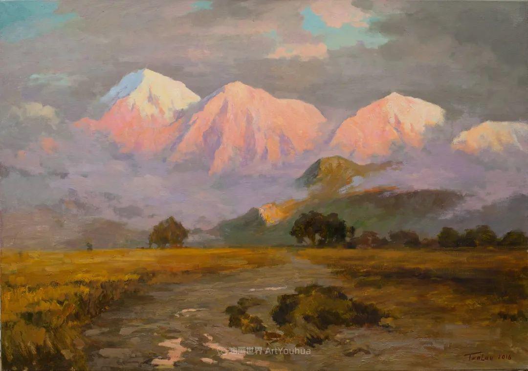 如此清新秀丽的油画风景,简简单单的美!插图41