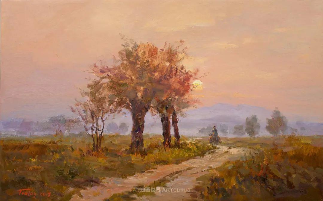 如此清新秀丽的油画风景,简简单单的美!插图43