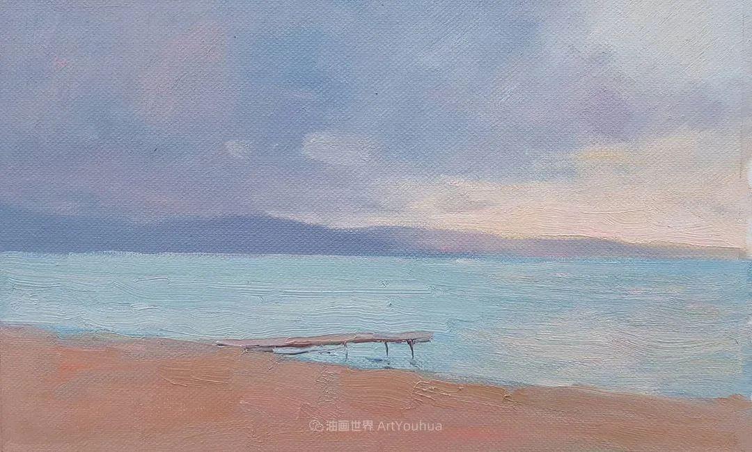 如此清新秀丽的油画风景,简简单单的美!插图45