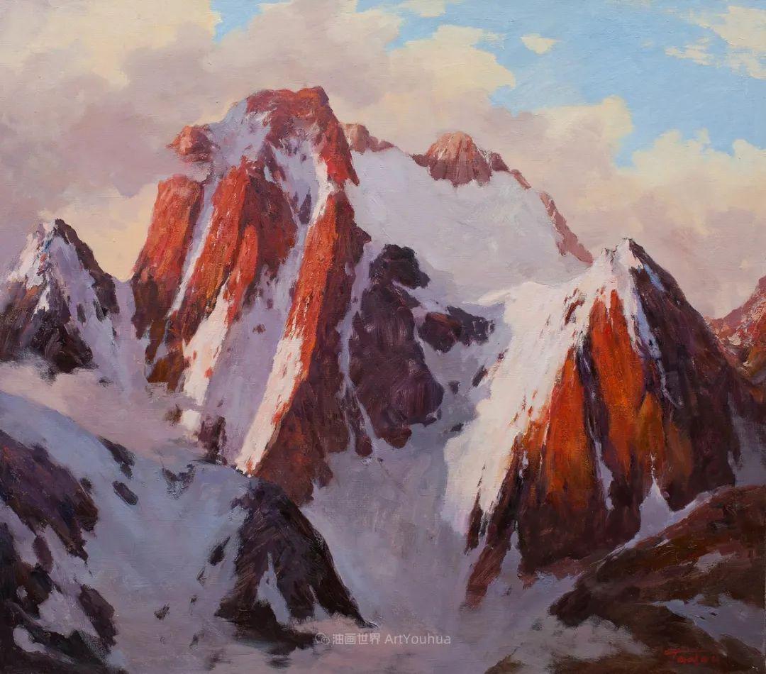 如此清新秀丽的油画风景,简简单单的美!插图61