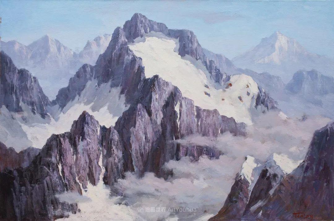 如此清新秀丽的油画风景,简简单单的美!插图63