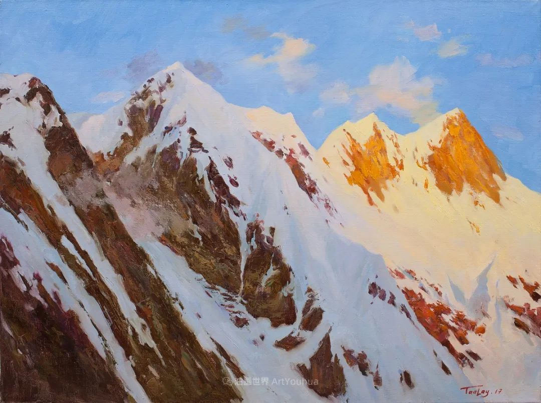 如此清新秀丽的油画风景,简简单单的美!插图65