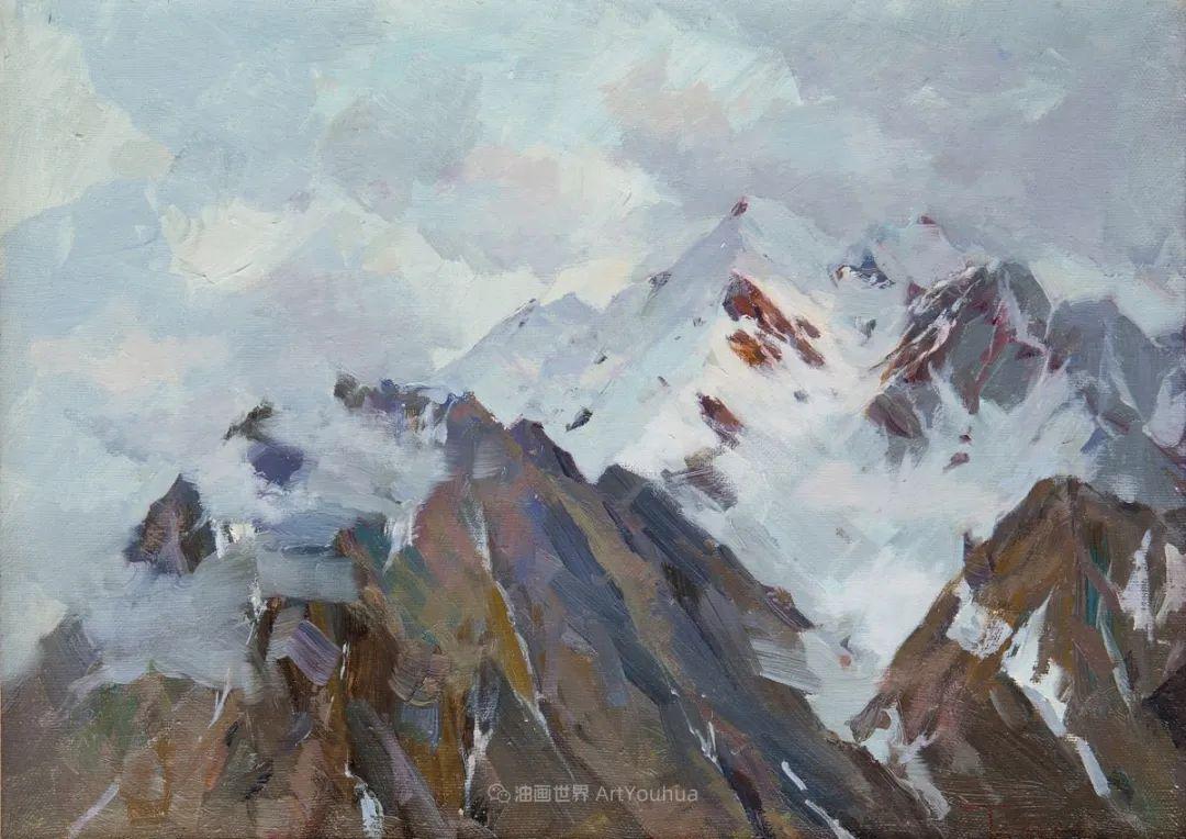 如此清新秀丽的油画风景,简简单单的美!插图73