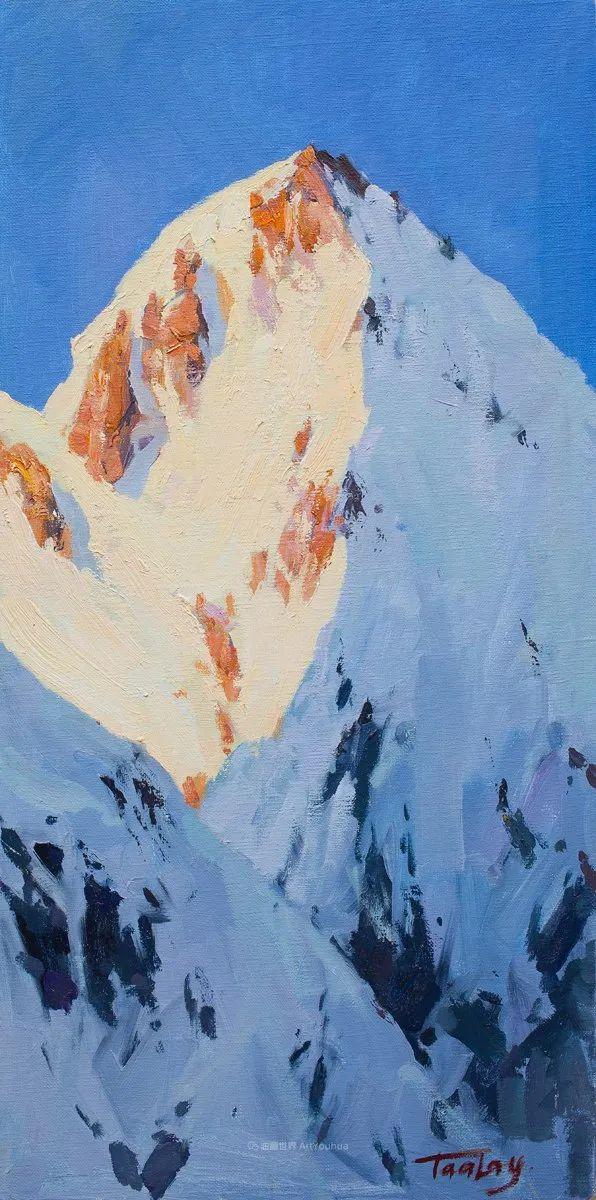 如此清新秀丽的油画风景,简简单单的美!插图81
